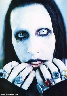"""""""Yesterday I was dirty, wanted to be pretty. I know now that I'm forever dirt."""" ~ Marilyn Manson // The Nobodies"""