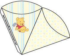 Pooh Baby - Kit Completo com molduras para convites, rótulos para guloseimas…