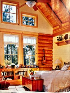 I want to live in a log cabin so bad