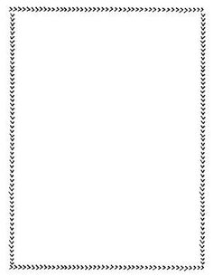Page Borders Free, Page Borders Design, Border Design, Doodle Borders, Borders For Paper, Borders And Frames, Printable Designs, Printable Labels, Book And Frame