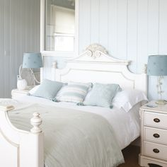 images living rooms in palest periwinkle | the combination of white and pale blue is always such