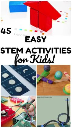 Try some of these easy activities to add STEM to everyday learning! Stem Activities, Activities For Kids, Sewing Projects For Kids, Lesson Plans, Homeschool, English, How To Plan, Math, Learning