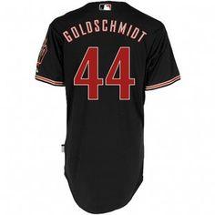 Arizona Diamondbacks Majestic MLB Paul Goldschmidt Cool Base Authentic Player Jersey (Black)