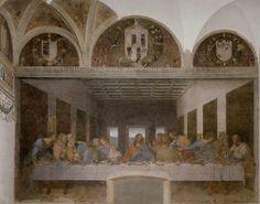 Leonardo da Vinci, Last Supper, 1495-98, Santa Maria delle Grazie, Milan