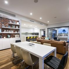 Custom Mid-Century Modern and Industrial home in Doubleview - Oswald Homes