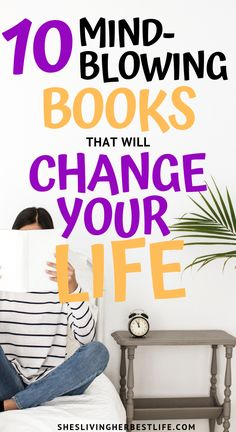 Do you want to change your mindset, grow in personal development and imporve your life? Check out these 10 mind-blowing books that will change your life forever. The Help Book, Good Books, Books To Read, Life Changing Books, Personal Development Books, Motivational Books, Growth Mindset, Self Improvement, Self Help