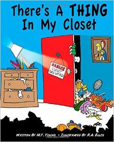A children's book about a boy who has a messy room that he blames on the monster that lives in his closet. His uncle comes for a visit and they go on a quest to get a picture of the monster.