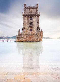 Belém Tower, Lisbon, Portugal by Daniel Viñé Garcia
