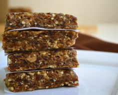Easy Homemade Larabars