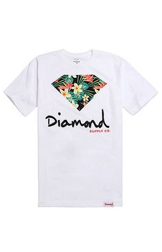 Diamond Supply Co Maui Script Logo T-Shirt