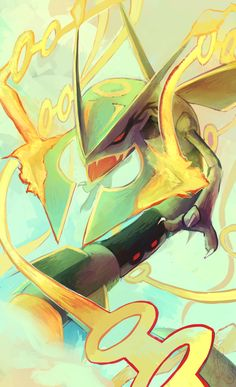 I have always loved rayquaza but now I love it even more!!!!