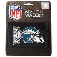 Rico Industries NFL Philadelphia Eagles Trifold Wallet Nylon * See this great product. (This is an Amazon Affiliate link and I receive a commission for the sales)