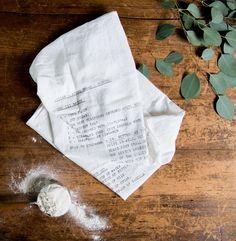 Syrian Donut Recipe Tea Towel - Magnolia Market | Chip & Joanna Gaines