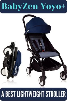 The weight of BabyZen YoYo+ is only 16 lbs and can carry children up to 40 pounds. It has extendable canopy for more shade, a new carry strap and updated rain cover included. It can be fitted most aircraft overhead compartments. #babyzenyoyo+ #bestbabystroller #bestlightweightstroller #babystroller #beststroller Best Lightweight Stroller, Best Baby Strollers, Travel System, Jogging, Canopy, Infant, Aircraft, Rain, Children
