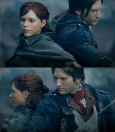 Assassins Creed Unity Elise & Arno