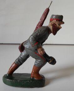 Elastolin Lineol Prewar Soldier With Hand Granate 10 CM Version | eBay