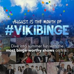 Get your #VikiBinge on this summer with the latest and greatest in Global TV