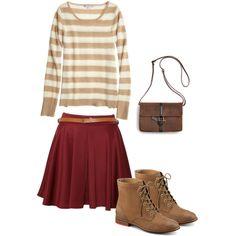 boots & skirt
