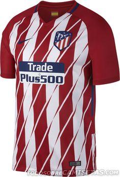 Camisetas Nike de Atletico de Madrid 2017-18 Atletico De Madrid Jersey 0088b69492f