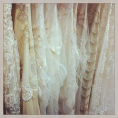 Claire Pettibone wedding gowns available at @Mestads Bridal - Trunk Show today Feb 15-17 Photo by http://www.mestads.com/
