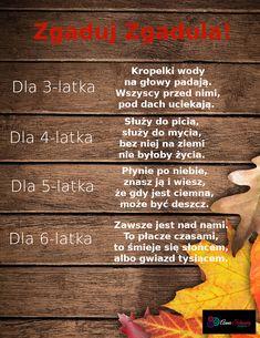 Rodzinna Gra Terenowa | Zagadki o jesieni | Zagadki dla przedszkolaków Gra, Movie Posters, Film Poster, Film Posters