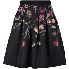 Ted Baker Deniva Skirt ($145) ❤ liked on Polyvore featuring skirts, bottoms, faldas, ted baker, pleated skirt, ted baker skirt and knee length pleated skirt