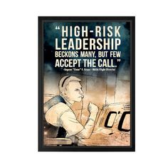 Eugene 'Gene' Kranz - Lynx Art Collection Space Posters