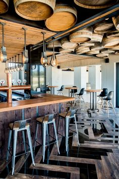 bar & event space by inhouse for anura vineyards
