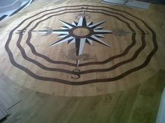 Suggests: Karndean Compass Karndean Flooring, Nautical Star, Pantry Storage, Compass, Interior Design, Stars, Storage Ideas, Kitchen, Design Ideas