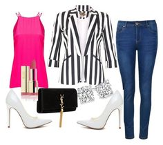 """""""Untitled #50"""" by hillzbabez on Polyvore featuring Jolie Moi, Ally Fashion, Giuliana Romanno and Yves Saint Laurent"""