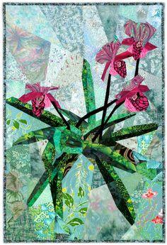 Paphiopedalum « Ann Harwell, Fabric Artist