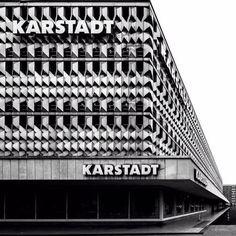 Centrum Warenhaus, Magdeburg, Germany, built between 1970-3, Architect: Karl-Ernst, Anne-Monika Zorn © BACU