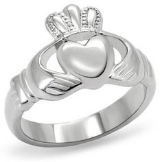 Love, Loyalty, Friendship... I wear my Irish heritage on my sleeve :) this is a Claudidah ring. If you wear the heart toward your heart,your taken,the crown toward your heart your single.