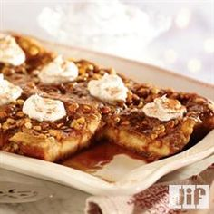 Peanut Butter Caramel French Toast Recipe from Jif®