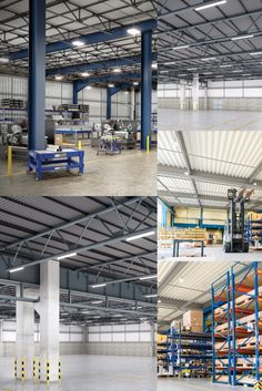 Metalux products in warehouse solutions