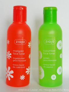 Ziaja Marigold & Cucumber Facial Toner Review http://stephanielouiseatb.blogspot.com/2013/11/ziaja-marigold-cucumber-facial-toner.html  #ziaja #skin #skincare #toner #review #bbloggers #beautybloggers #dry #oily #combo