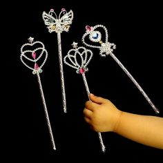 Amazon.com: Dazzling Toys Metallic Star Wands - Pack of 12 (D145): Toys & Games