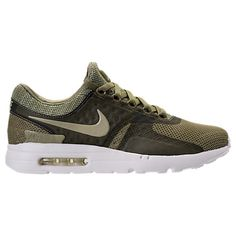 Mens Nike Air Max Zero Sneakers in Green Mens Nike Air, Nike Men, Nike Air Max, Nike Shoes 2017, Air Max Sneakers, Sneakers Nike, Hipster Outfits, Back To School Outfits, Running Shoes
