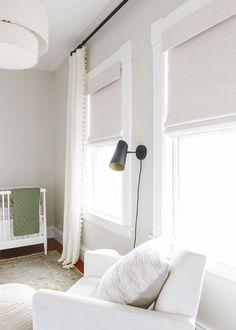 Blinds Nursery Curtains