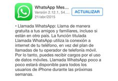 Llamadas de WhatsApp en iPhone ¡Ya disponibles! - http://webadictos.com/2015/04/21/llamadas-de-whatsapp-en-iphone/?utm_source=PN&utm_medium=Pinterest&utm_campaign=PN%2Bposts