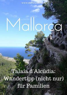Der Aufstieg zum Talaia d'Alcúdia im Nordosten Mallorcas ist eine wunderschöne Wanderung. Wir haben es mit Kleinkind geschafft, also schafft ihr es auch - und es lohnt sich! #Mallorca #Alcudia #WandernmitKind #Mallorcatipps