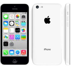 iPhone 5C Blanco..the phone i want for my birthday!
