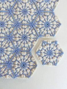 Crochet blanket pattern, the asanoha hexagon, crochet afghan patterns. granny…