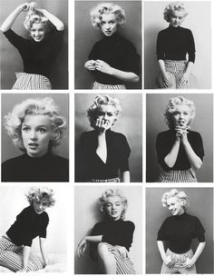 Marilyn Monroe photographed by Ben Ross, 1953.