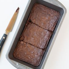 Because sometimes you just need chocolate and brownies. Small Batch Brownies | Cooking Classy #brownie
