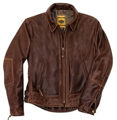 Schott Bros Perfecto Vintage Motorcycle Jacket - Antique Brown (585)