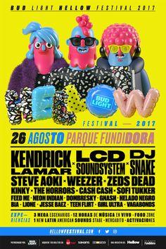 El Próximo 26 de Agosto en el Parque Fundidora, MX. se realizara el Bud Light Hellow Festival 2017. Se trata de una nueva edición de este festival norteño que reunirá a 21 artistas en tres escenarios en el Parque Fundidora. Los asistentes disfrutarán de 12 horas ininterrumpidas con lo mejor de la música electrónica, popo, …