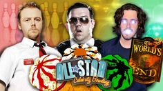 All-Star Celebrity Bowling Team Cornetto Trilogy vs. Team Nerdist