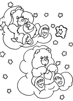 Care Bears - 999 Coloring Pages