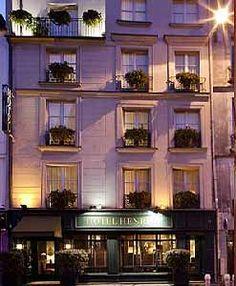 Hotel Heri IV, Paris. Our fav little hotel.
